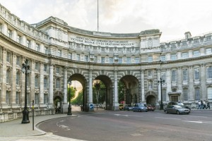 Admiralty Arch stone cladding